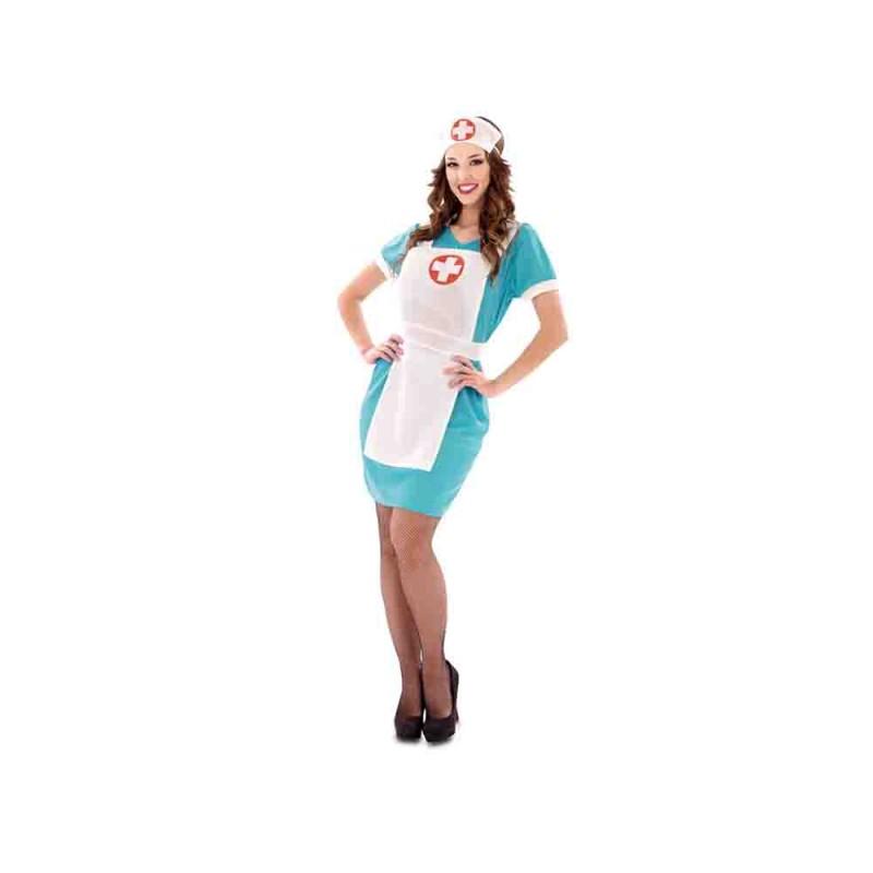 Costume Infermiera Per Donna - Taglia M-L - MazzeoGiocattoli.it