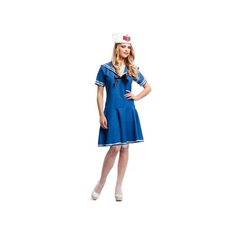 Costume Marinaia Blu Per Donna - Taglia M-L - MazzeoGiocattoli.it