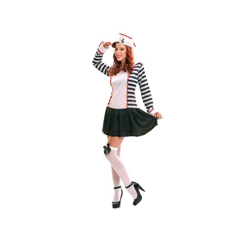 Costume Marinaia Per Donna Taglia M-L - MazzeoGiocattoli.it