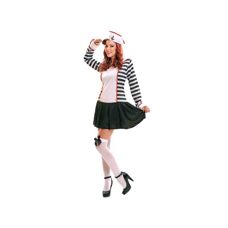 Costume Marinaia Per Adulta - Taglia S - MazzeoGiocattoli.it