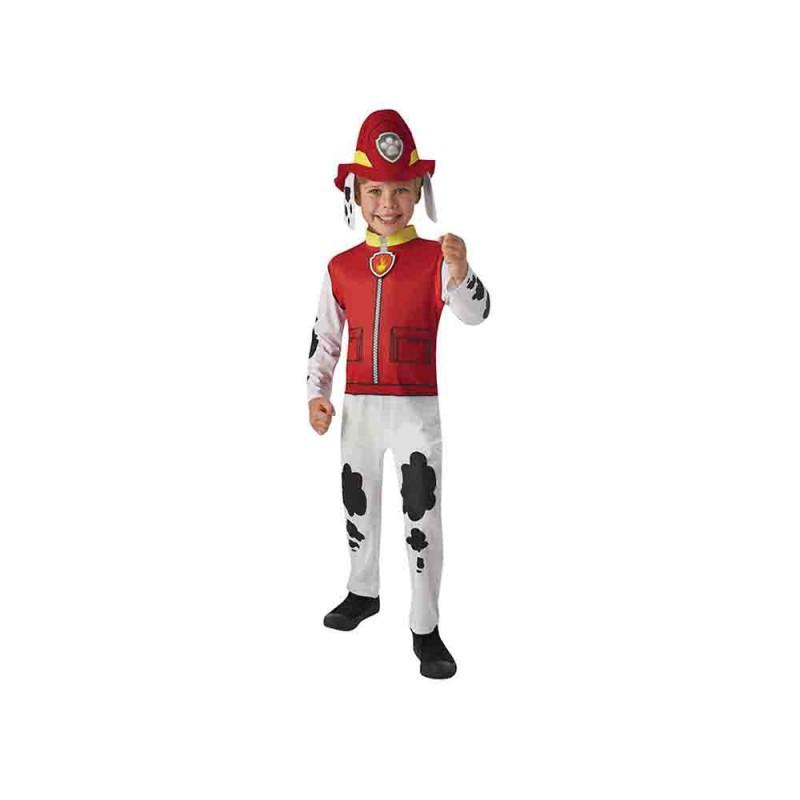 Costume Paw Patrol Marshall Età Due Anni  - MazzeoGiocattoli.it
