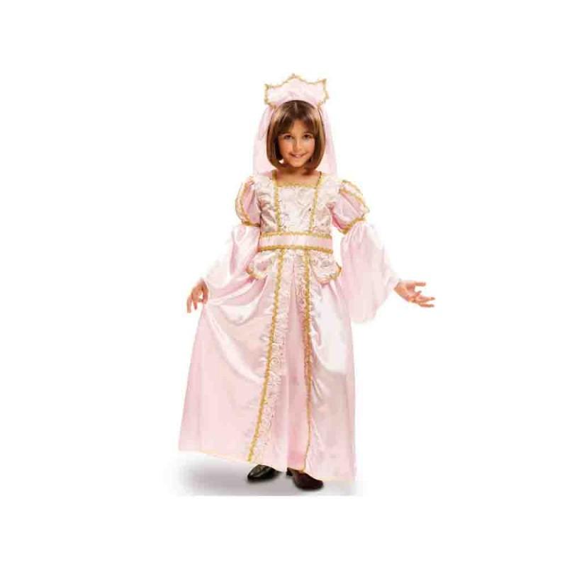 Costume Principessa Baby Per Bambina - 5-6 Anni - MazzeoGiocattoli.it