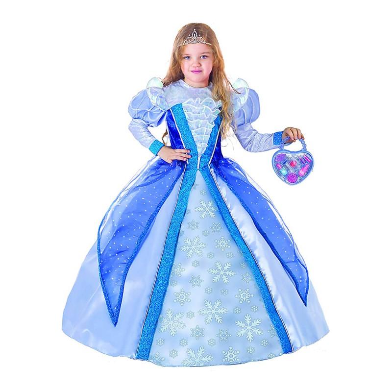 Magico Costume Da Principessa Delle Nevi Con Pochette 5-7 Anni  - MazzeoGiocattoli.it