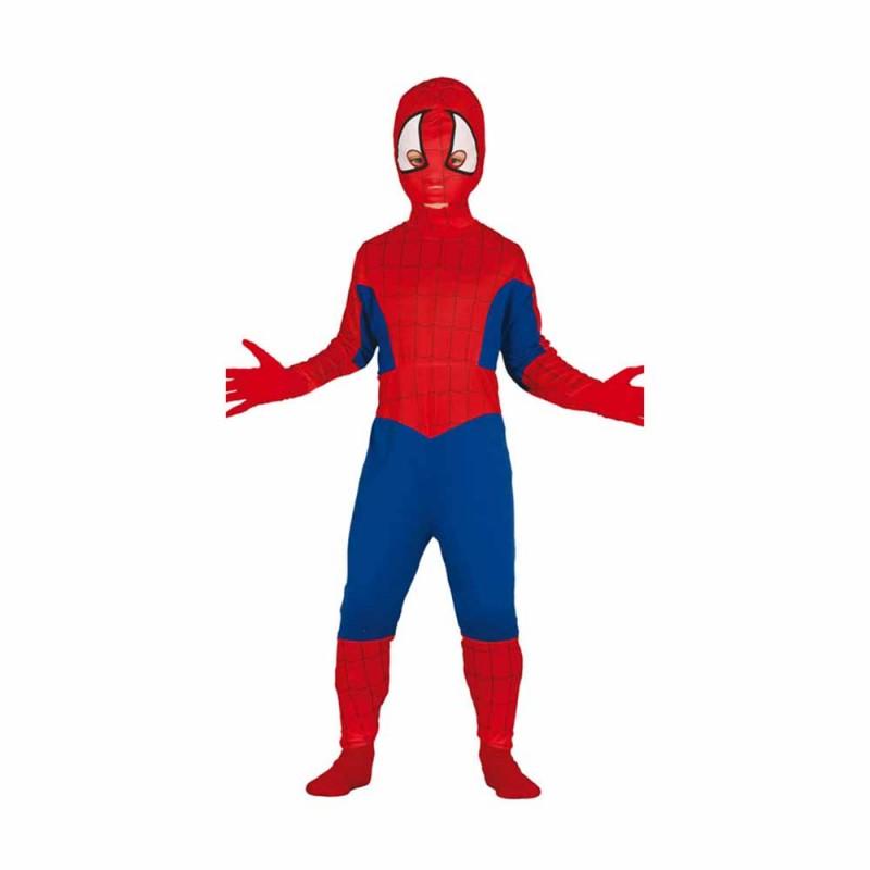 Costume Carnevale Spider Boy Bambino 7-9 Anni - MazzeoGiocattoli.it