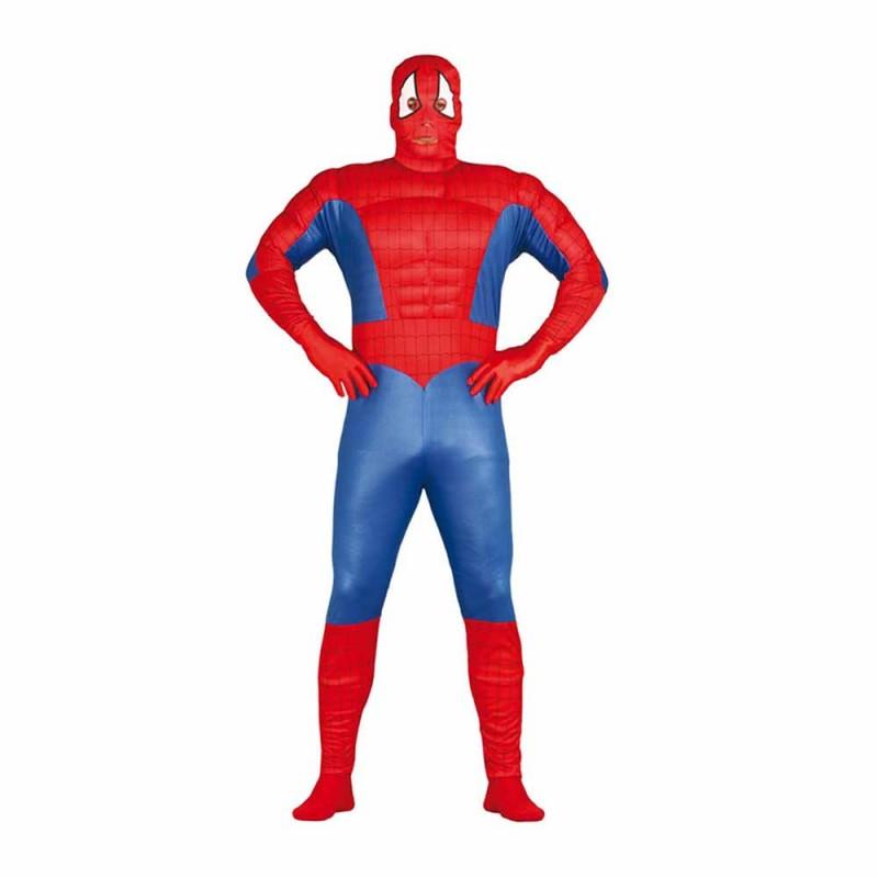 Costume Da Supereroe Muscoloso Per Adulto Taglia M - MazzeoGiocattoli.it