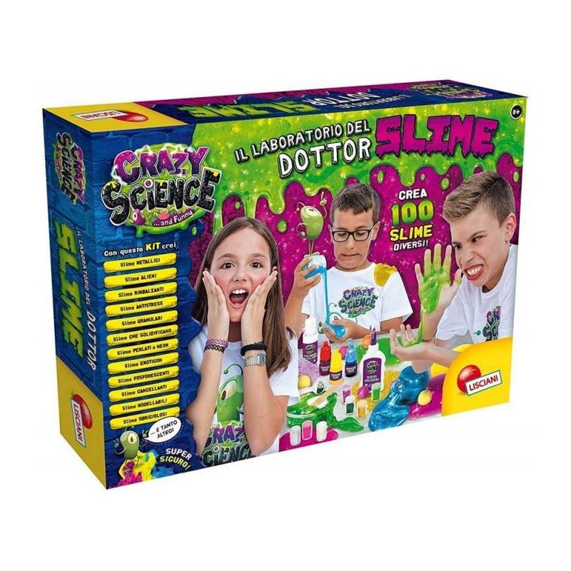 Crazy Scienze - Il Laboratorio Del Dottor Slime - Lisciani  - MazzeoGiocattoli.it