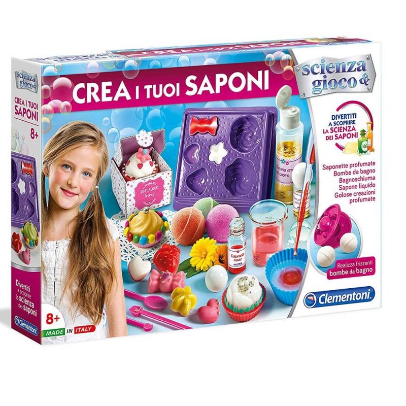 Crea I Tuoi Saponi - Clementoni   - MazzeoGiocattoli.it