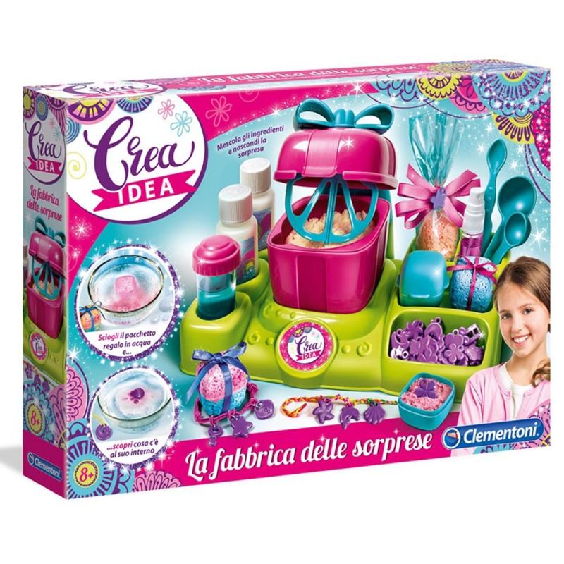 Crea Idea Fabbrica Delle Sorprese - Clementoni  - MazzeoGiocattoli.it