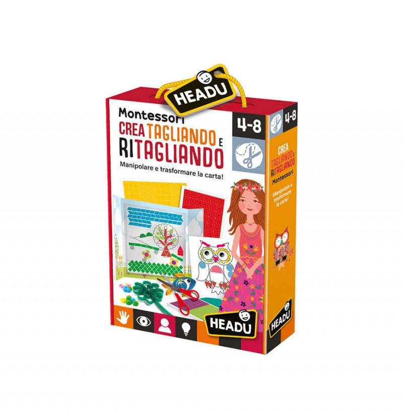 Crea Tagliando E Ritagliando - Headu - MazzeoGiocattoli.it