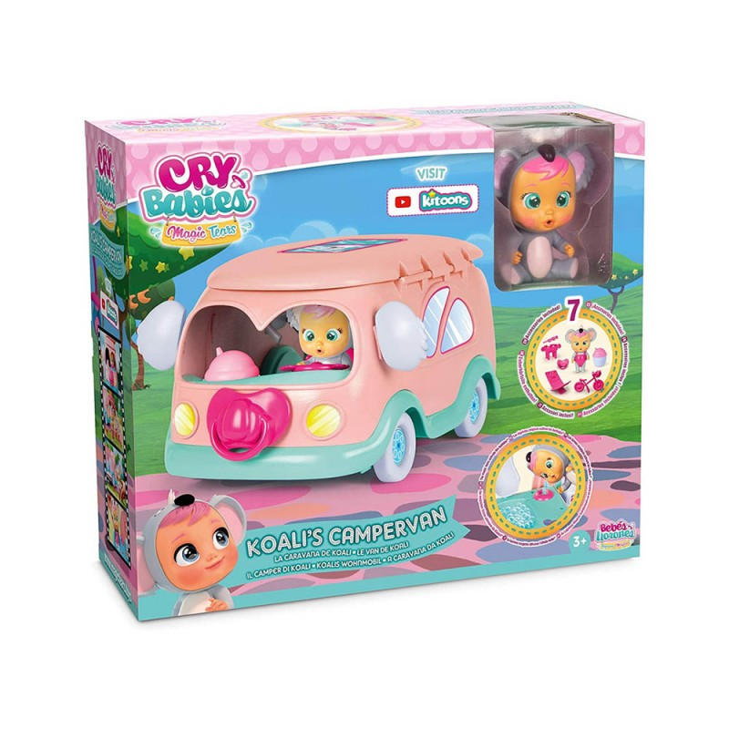 Cry Babies Camper Di Koali - Imc Toys  - MazzeoGiocattoli.it