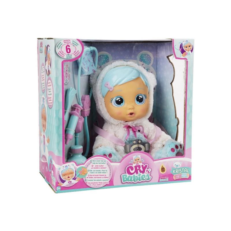 Cry Babies Kristal - IMC Toys  - MazzeoGiocattoli.it