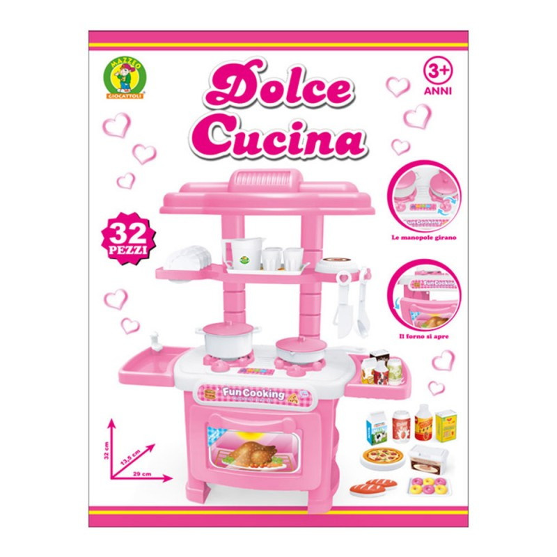Cucina Giocattolo - Dolce Cucina - Mazzeo Giocattoli - MazzeoGiocattoli.it