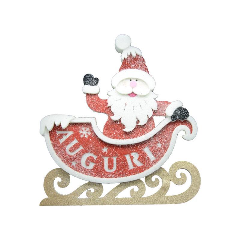 Decorazione Babbo Natale 55 Cm - Mazzeo Giocattoli  - MazzeoGiocattoli.it