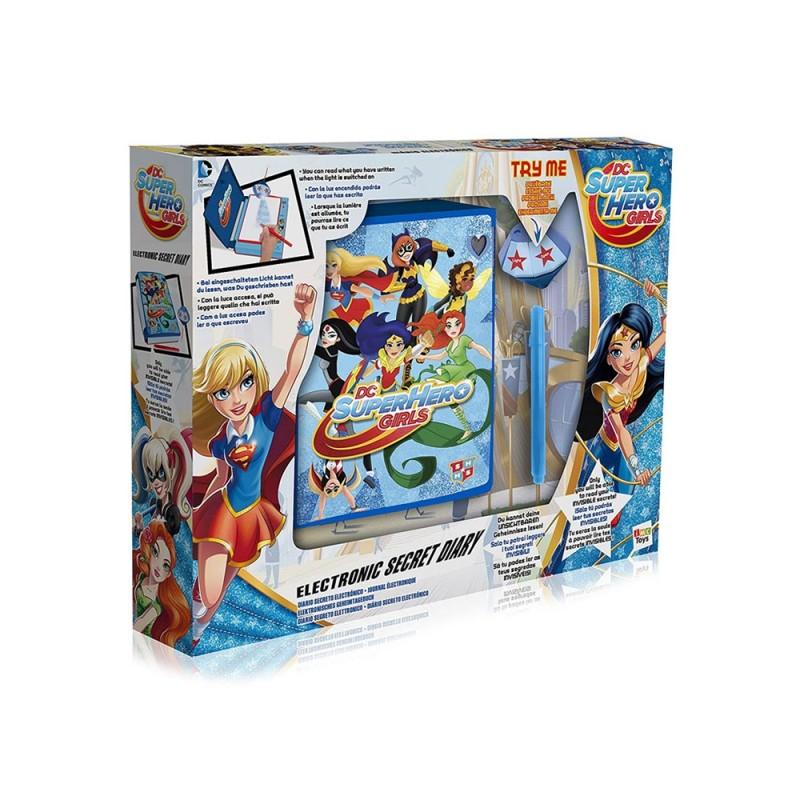 Diario Elettronico Segreto Di Dc Super Hero Girls - Imc Toys  - MazzeoGiocattoli.it