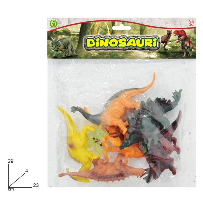Dinosauri In Gomma In Miniatura - Mazzeo Giocattoli - MazzeoGiocattoli.it