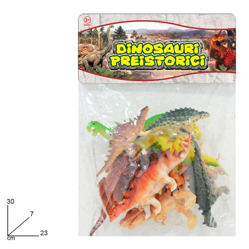 Dinosauri Preistorici In Gomma In Miniatura - Mazzeo Giocattoli  - MazzeoGiocattoli.it