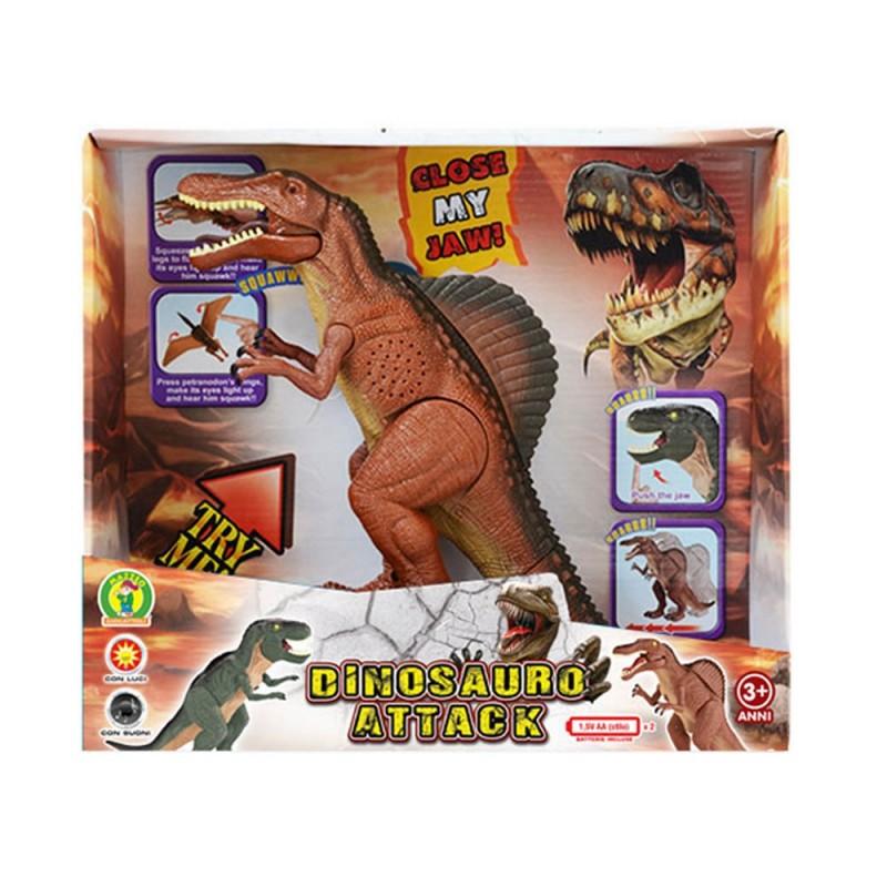 Dinosauro Giocattolo Elettronico Con Movimento - Mazzeo Giocattoli  - MazzeoGiocattoli.it