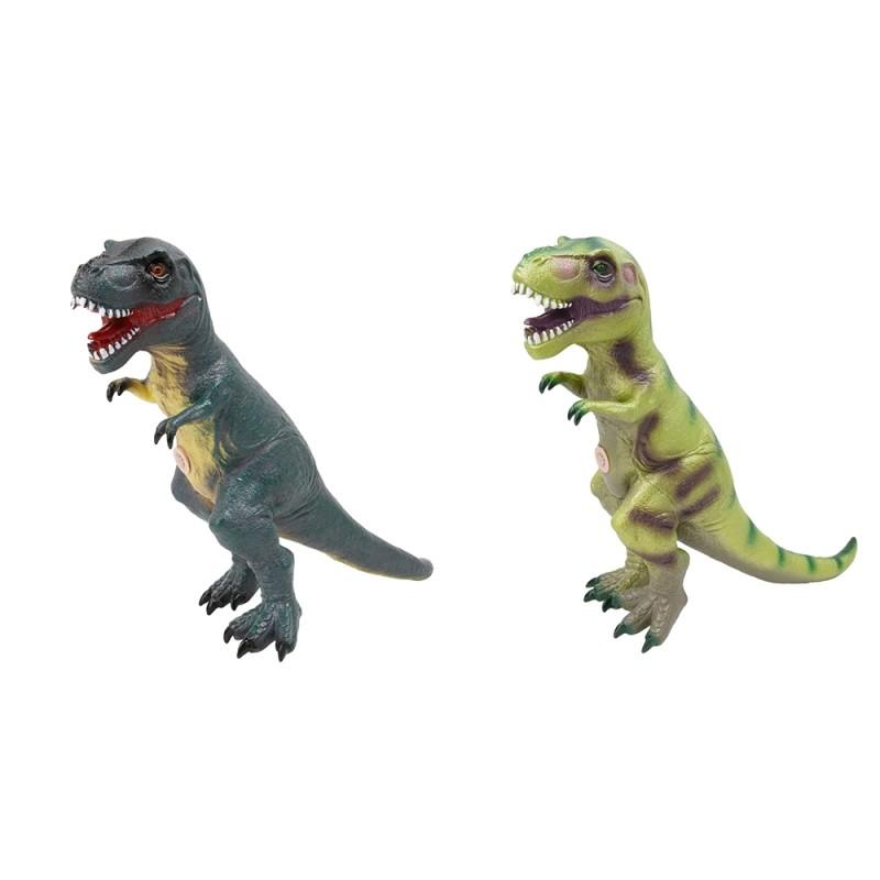 Dinosauro Giocattolo In Gomma Con Effetti Sonori - Mazzeo Giocattoli  - MazzeoGiocattoli.it