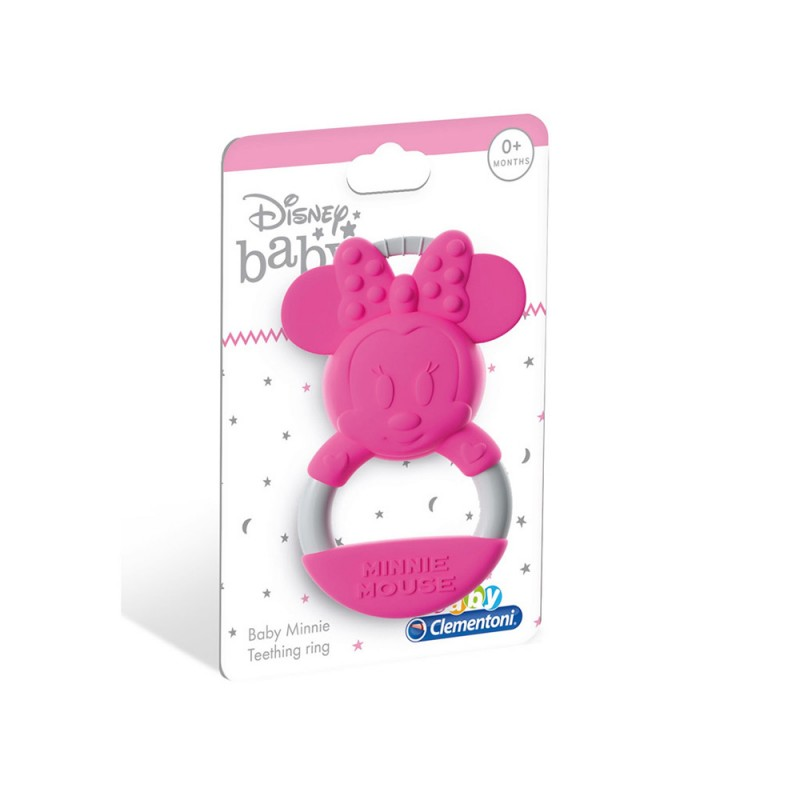 Disney Baby Minnie Anello Mordicchioso - Clementoni  - MazzeoGiocattoli.it