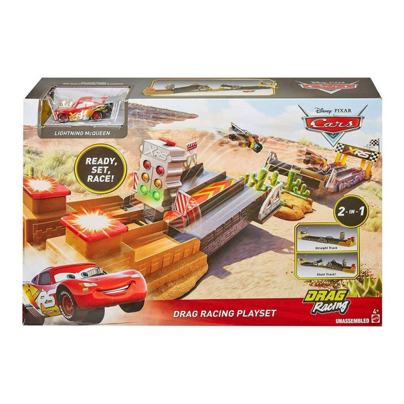 Disney Cars Drag Racing Playset - Mattel  - MazzeoGiocattoli.it