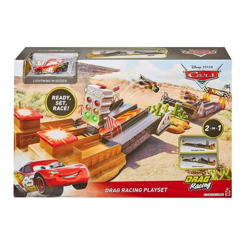 Disney Cars Drag Racing Playset - Mattel  - MazzeoGiocattoli.it