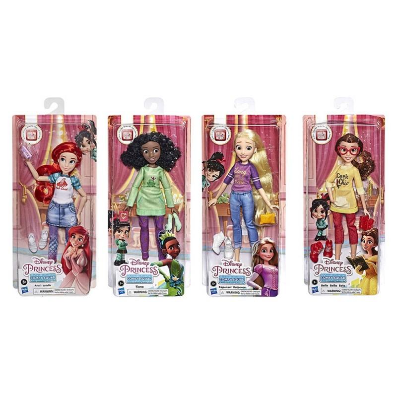 Disney Princess Comfy Squad - Hasbro - MazzeoGiocattoli.it