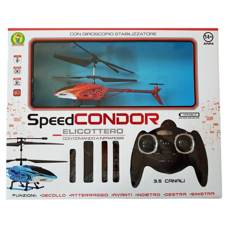 Drone Giocattolo - Speed Condor Mazzeo Giocattoli - MazzeoGiocattoli.it