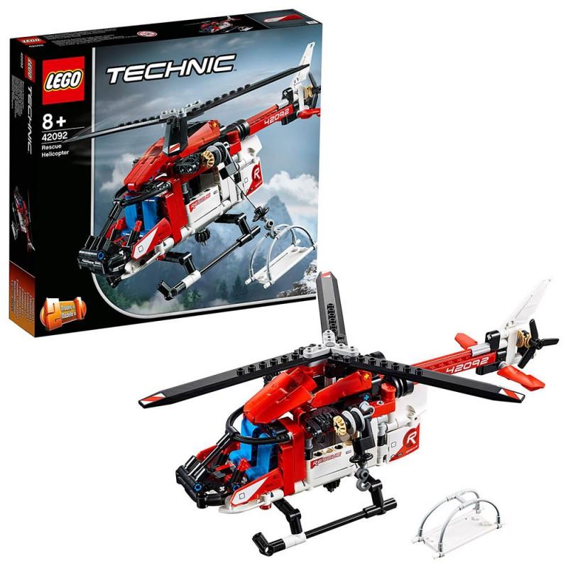Lego Technic - Elicottero Di Salvataggio - 42092 - MazzeoGiocattoli.it