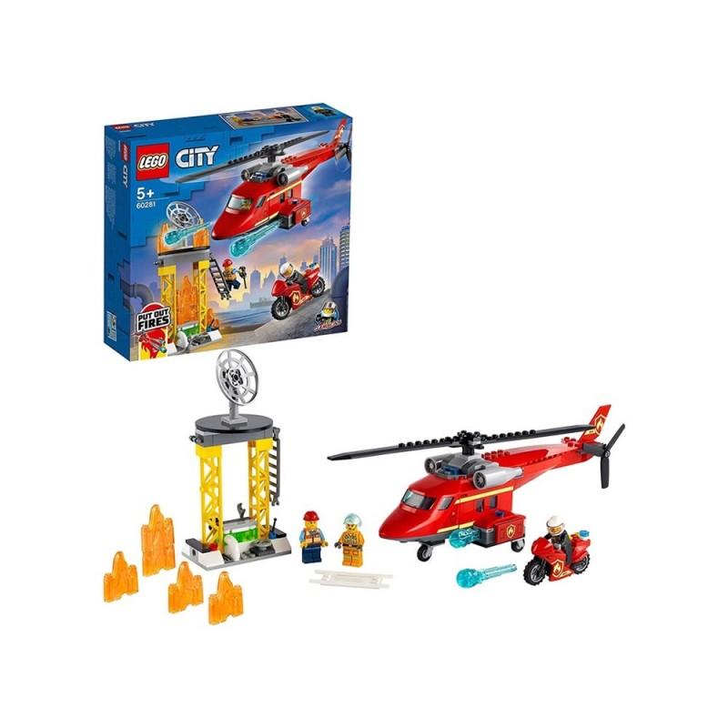 Elicottero Di Soccorso Antincendio - Lego City - MazzeoGiocattoli.it