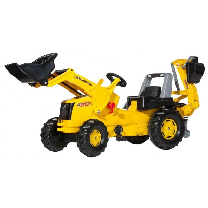 Trattore A Pedali Ruspa Escavatore - Rolly Toys  - MazzeoGiocattoli.it