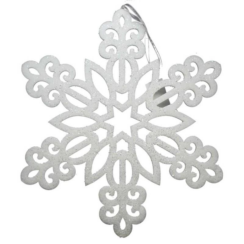 Fiocco Di Neve Decorativo 50x50 Cm -Mazzeo Giocattoli - MazzeoGiocattoli.it