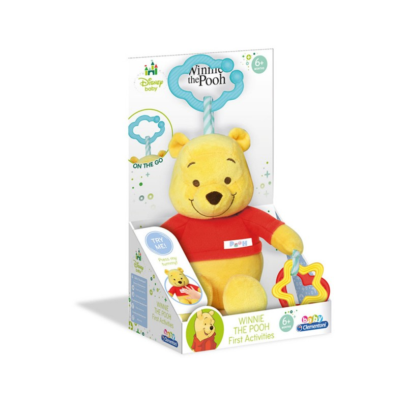 First Activities Winnie The Pooh - Clementoni  - MazzeoGiocattoli.it