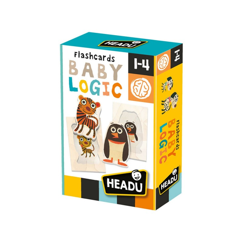 Flashcards Baby Logic - Headu  - MazzeoGiocattoli.it