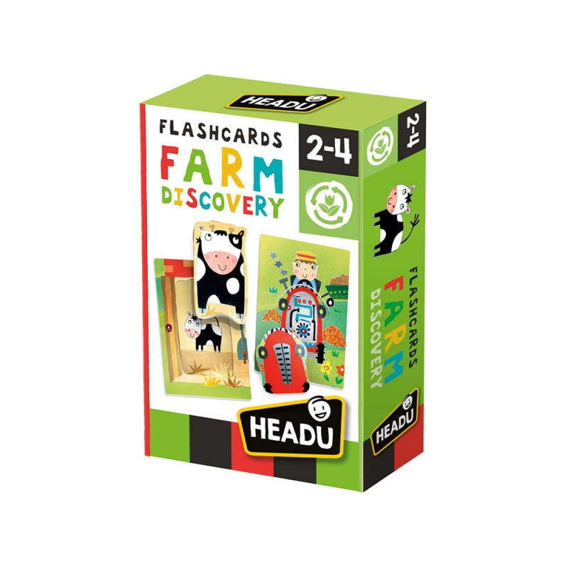 Flashcards Farm Discovery - Headu  - MazzeoGiocattoli.it