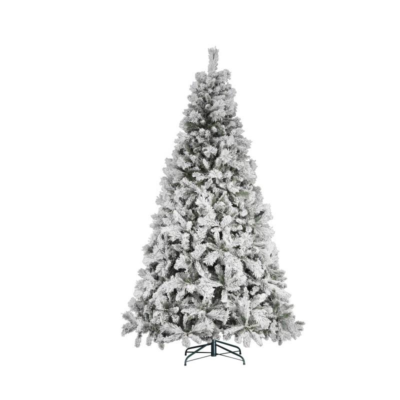 Albero Di Natale Modello Foresta Umbra Innevato Cm 210  - MazzeoGiocattoli.it