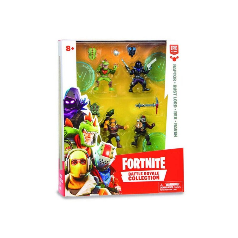 Fortnite - Blister Con 4 Personaggi E Accessori - Moose - MazzeoGiocattoli.it