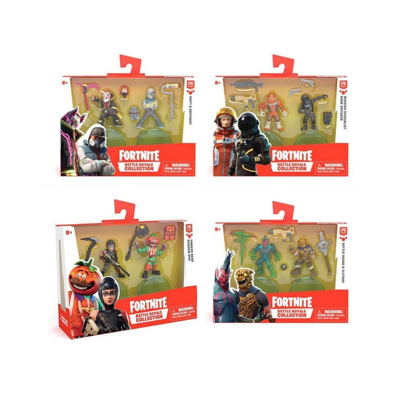 Fortnite Personaggi  5cm Duo Pack - Giochi Preziosi - MazzeoGiocattoli.it