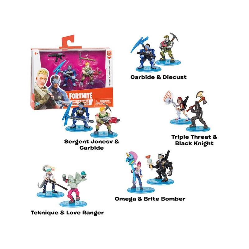 Fortnite Personaggi Duo Pack 5cm - Moose - MazzeoGiocattoli.it