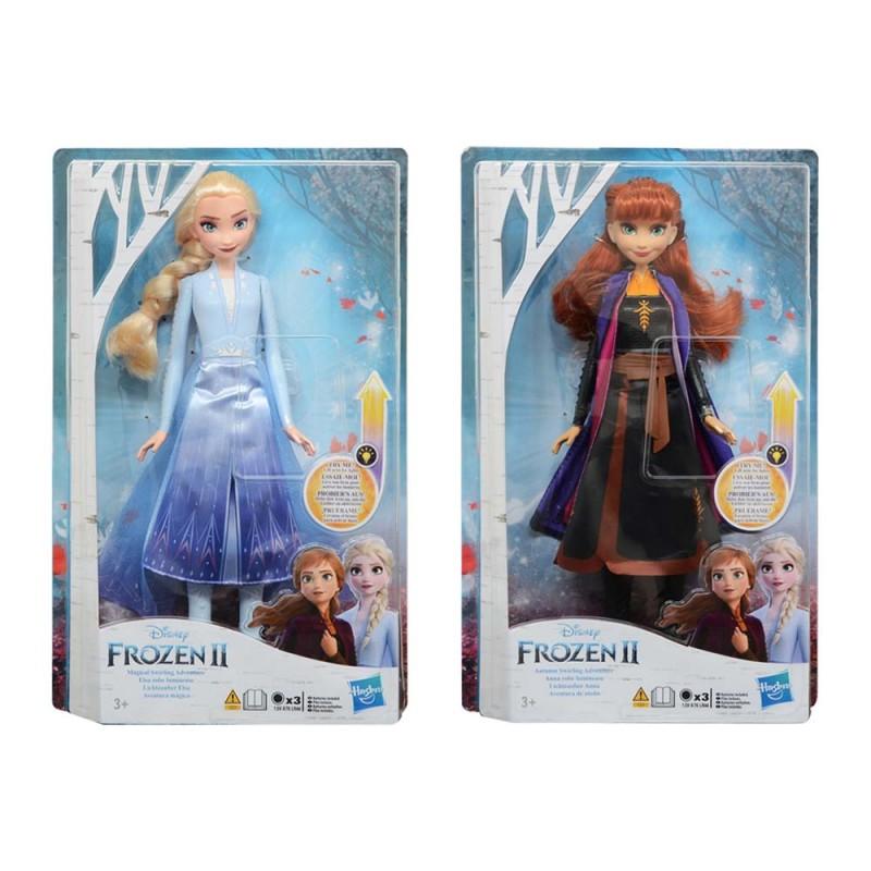 Frozen 2 Personaggio 30 Cm Con Luci - Hasbro  - MazzeoGiocattoli.it