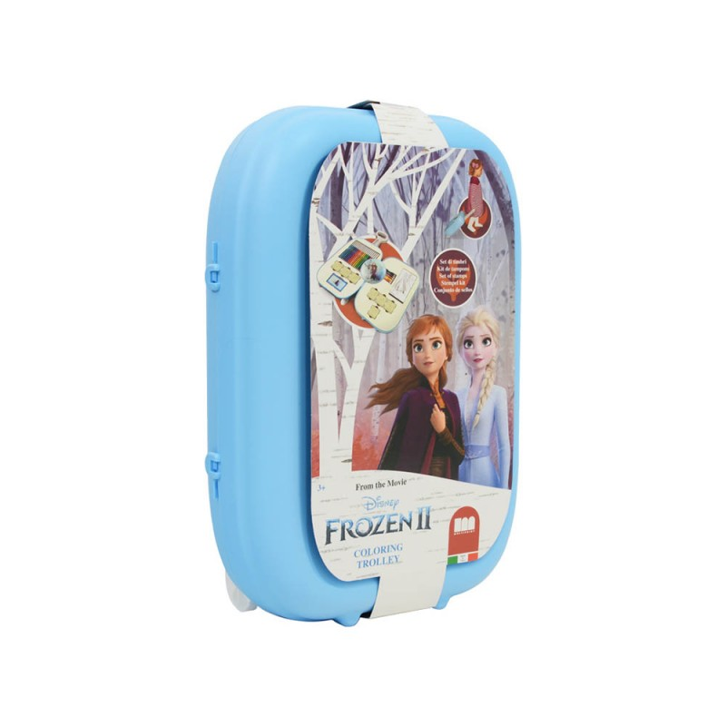 Frozen 2 Trolley Per Colorare - Multiprint  - MazzeoGiocattoli.it