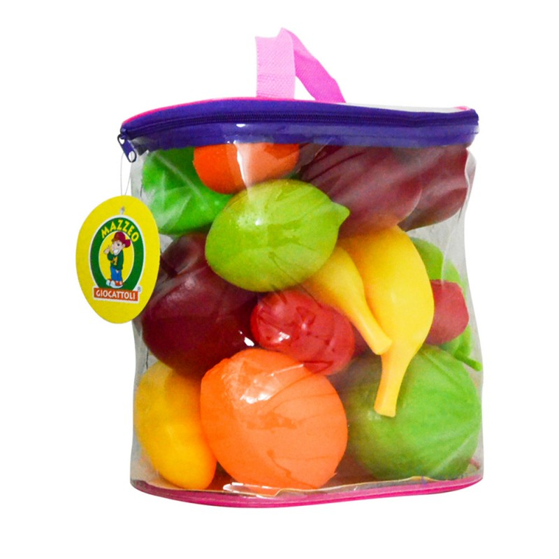 Sacca Gioca Frutta 25 Pz - Mazzeo Giocattoli - MazzeoGiocattoli.it