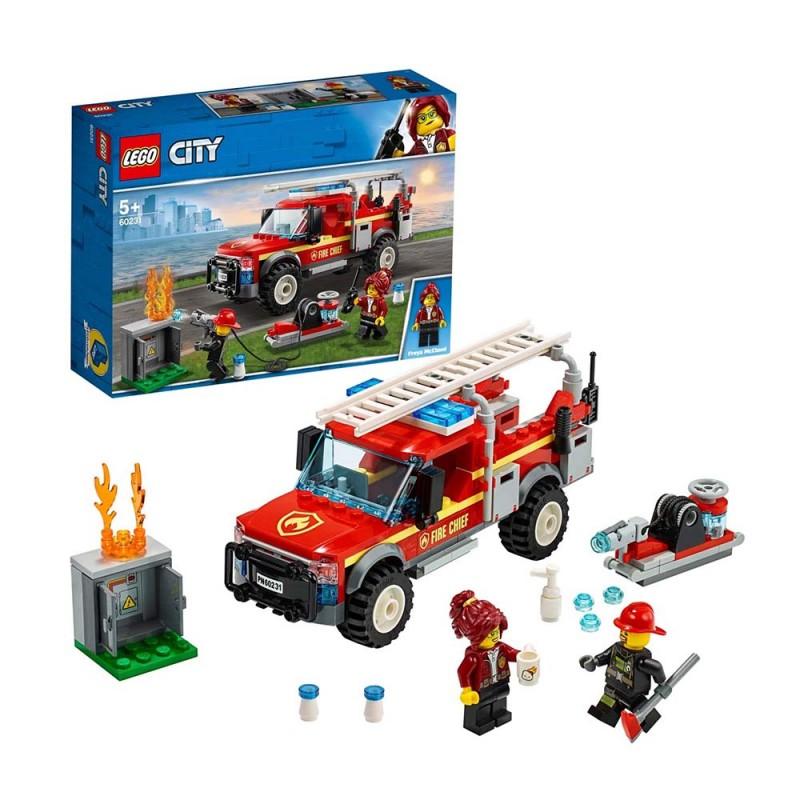 Fuoristrada Dei Vigili Del Fuoco - Lego City  - MazzeoGiocattoli.it