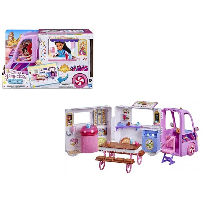 Furgoncino Gelati Principesse Disney Comfy Squad - Hasbro  - MazzeoGiocattoli.it