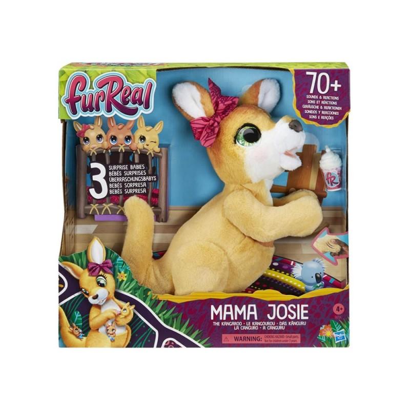 FurReal  Mama Josie Il Canguro - Hasbro  - MazzeoGiocattoli.it