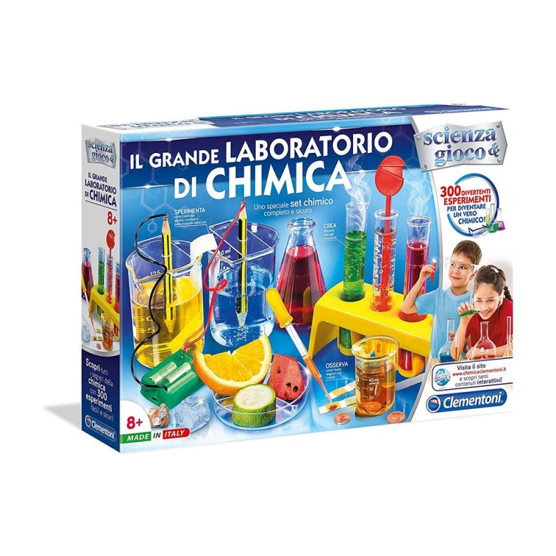 Giochi Educativi E Scientifici Il Grande Laboratorio Di Chimica - Clementoni - MazzeoGiocattoli.it