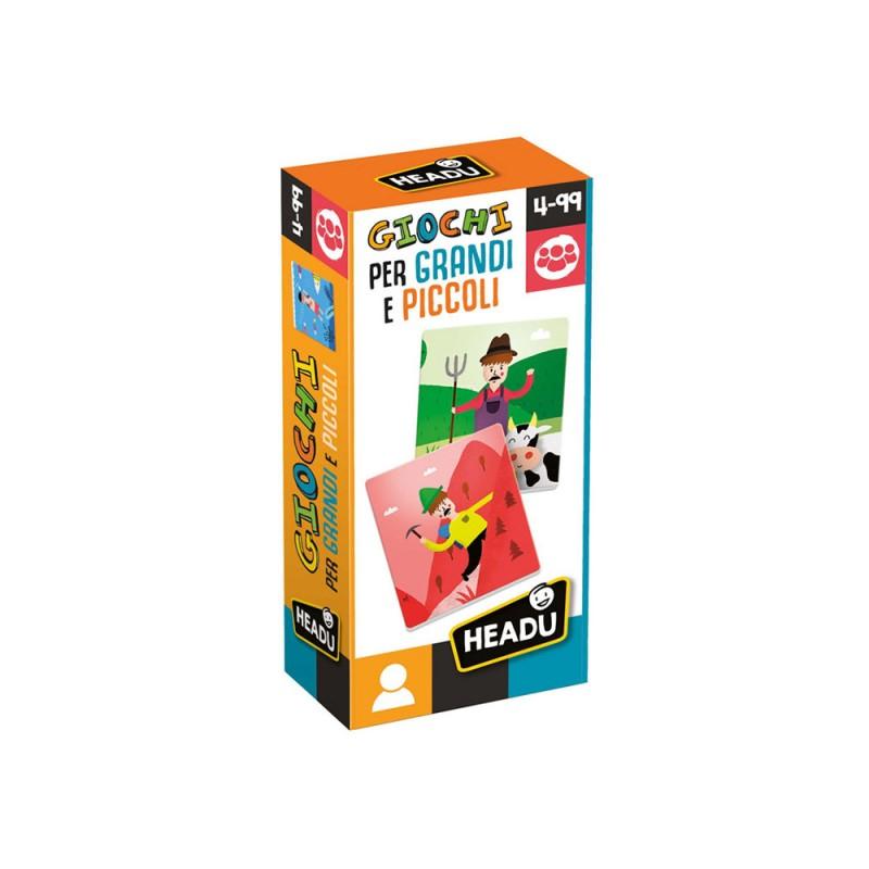 Giochi Per Grandi E Piccoli - Headu  - MazzeoGiocattoli.it