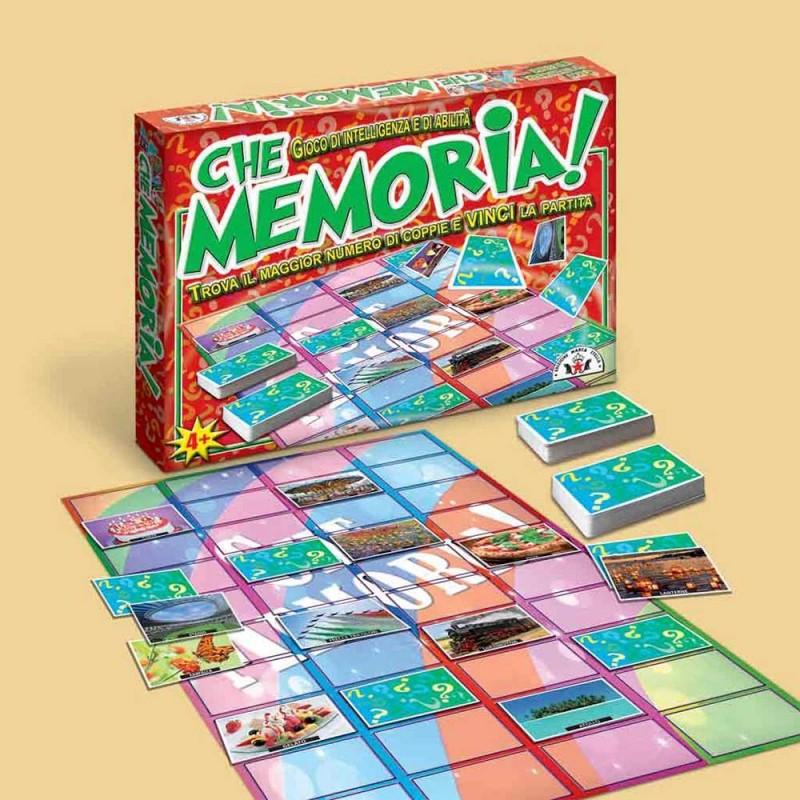 Gioco Che Memoria Art. 112 - Edizione Marca Stella - MazzeoGiocattoli.it