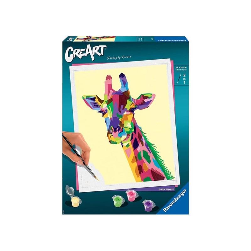 Gioco Creativo CreArt Giraffa - Ravensburger  - MazzeoGiocattoli.it