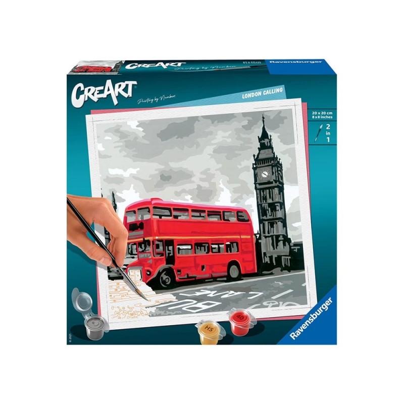 Gioco Creativo CreArt Londra - Ravensburger - MazzeoGiocattoli.it