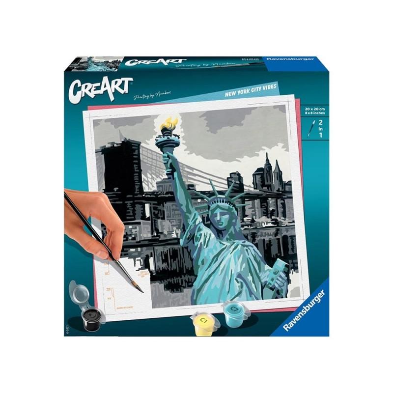 Gioco Creativo CreArt New York - Ravensburger  - MazzeoGiocattoli.it